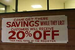 Discount Savings